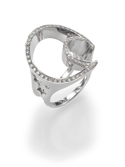 18K gold Ring LP 1033 Masquetade,  Diamonds