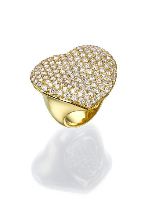 18K gold Ring LP 1004 Masquetade,  Diamonds