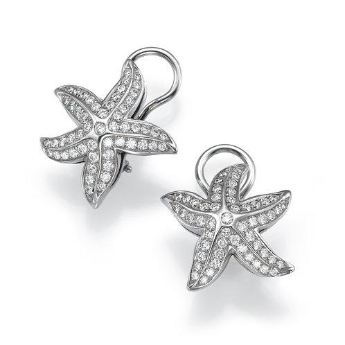 Earrings LP 2014 Coral Reef ,  Diamonds
