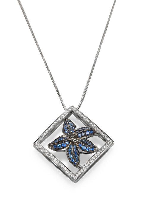 Pendant LP 3612 Coral Reef ,  Diamonds and Sapphire