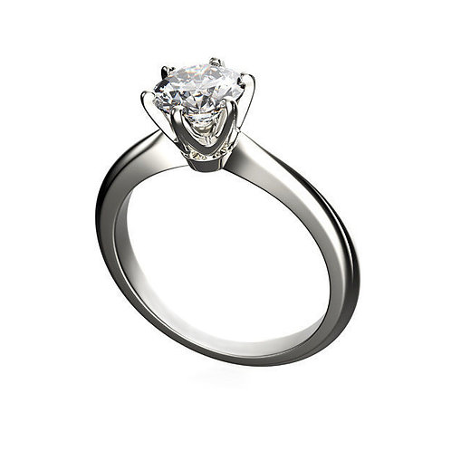 Solitaire  Ring 9052 Briliant