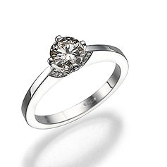 Solitaire sing, engagement ring