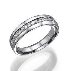 bridal band, anniversary ring