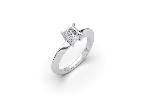 Solitaire   Ring 9057 Princess