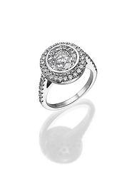 Round shape doamond solitaire ring