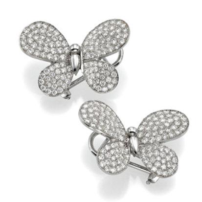 Earring  LP 2754 Papillon ,  Diamonds
