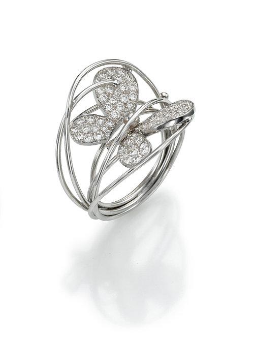 Ring  LP1466 Papillon ,  Diamonds