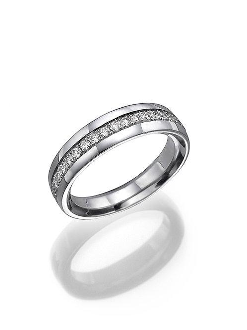 Bridal band, wedding band. wedding ring, anniversary ring. Brlliants diamonds ring