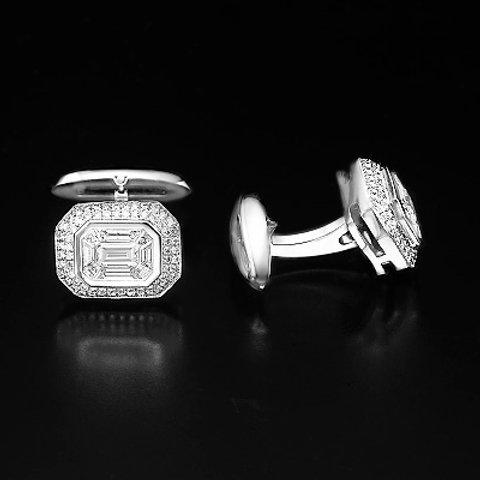 Diamonds cufflinks