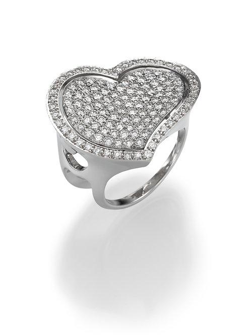 18K gold Ring LP 1375 Masquetade,  Diamonds