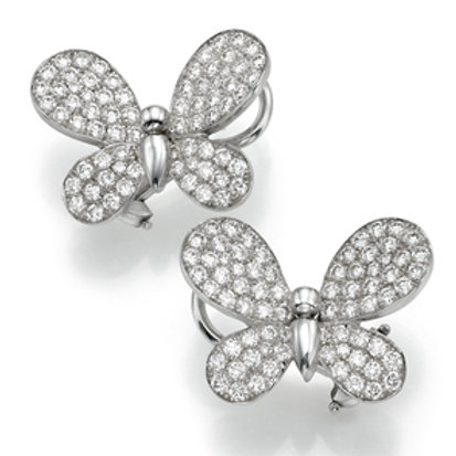 Earring  LP 2763 Papillon ,  Diamonds