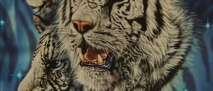 Find 9 White Tigers - Gardner