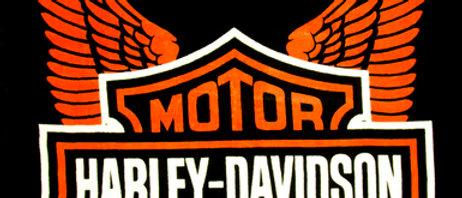 Harley Orange Wings