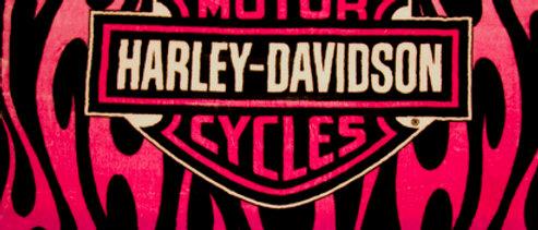 Harley - Pink Flames