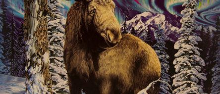 Alaskan Moose- Gardner