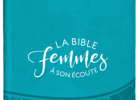 Bible Femme à son écoute - Turquoise