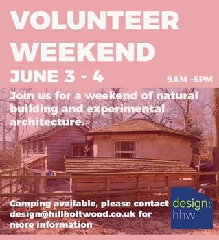 Volunteer Weekend 3rd - 4th June 2017 @ Hill Holt Wood