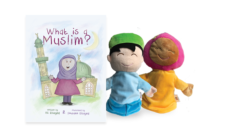 What is a Muslim Cover and puppets copy.