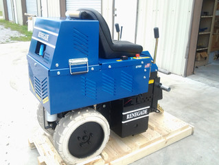 Did You Know We Have Ride-On Scraping Equipment?