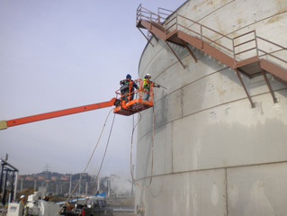 Vertical Surface: Tank Cleaning Services