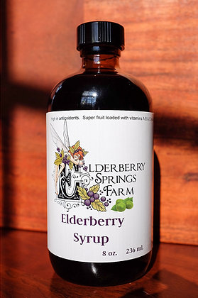Sugar Free Elderberry Syrup (Keto-Friendly & Shipping Cost Included)