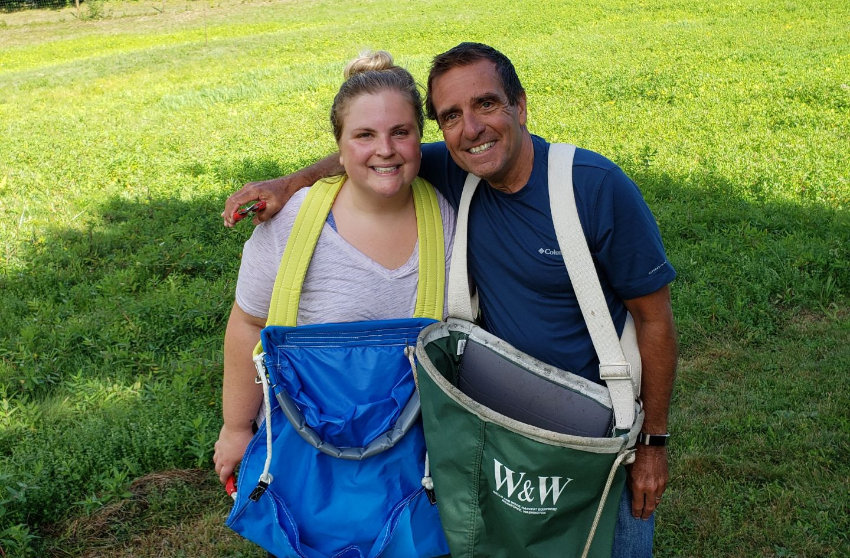Meg and Bob after the Harvest 2020.jpg