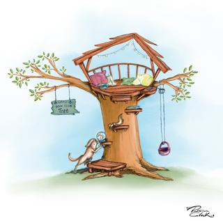Tree Book house