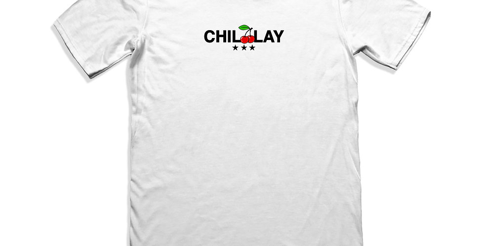 CHERRY LOGO TEE (WHITE)