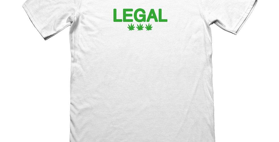 LEGAL TEE - WHITE