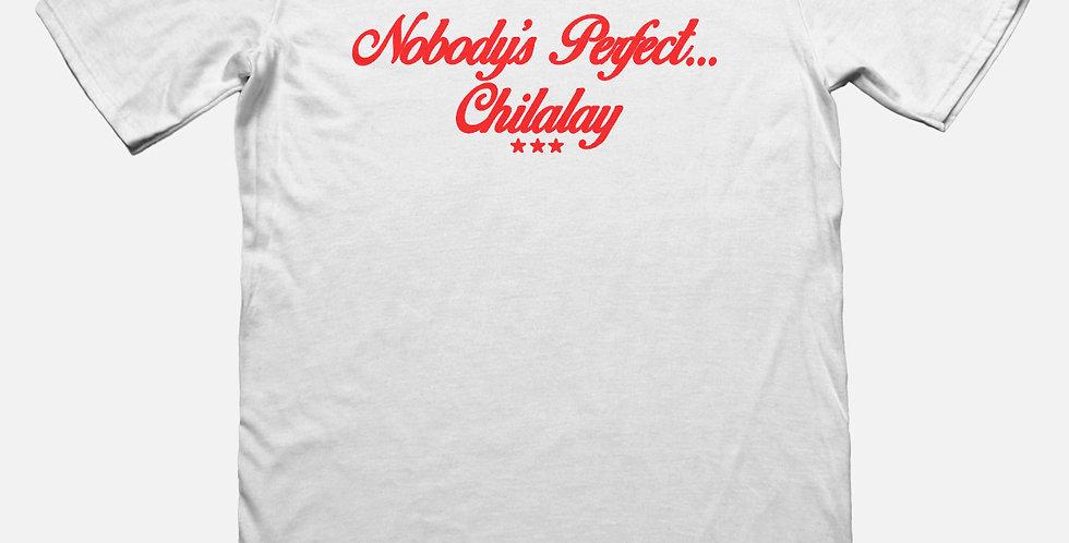 NOBODY'S PERFECT TEE (WHITE)