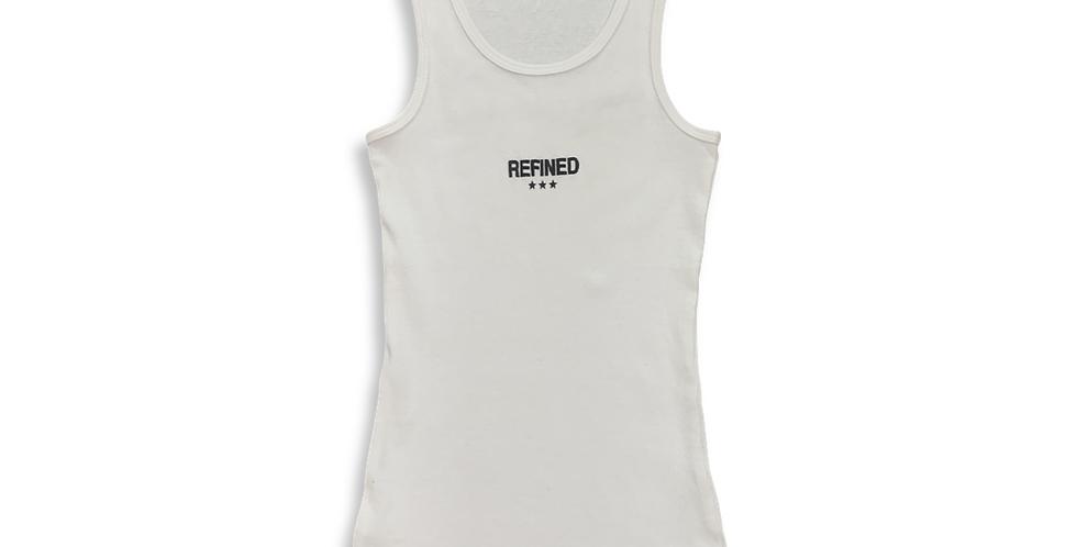 REFINED TANK - WHITE