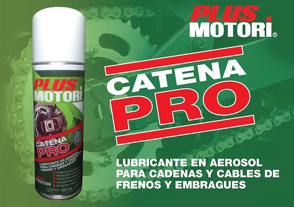 Lubricante Aerosol Cadenas moto Plus Motori