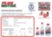 Lubricantes aceite y aditivos Plus Motori Liquido de frenos DOT 3 y DOT 4 IRAM AITA 6H3 y CHAS