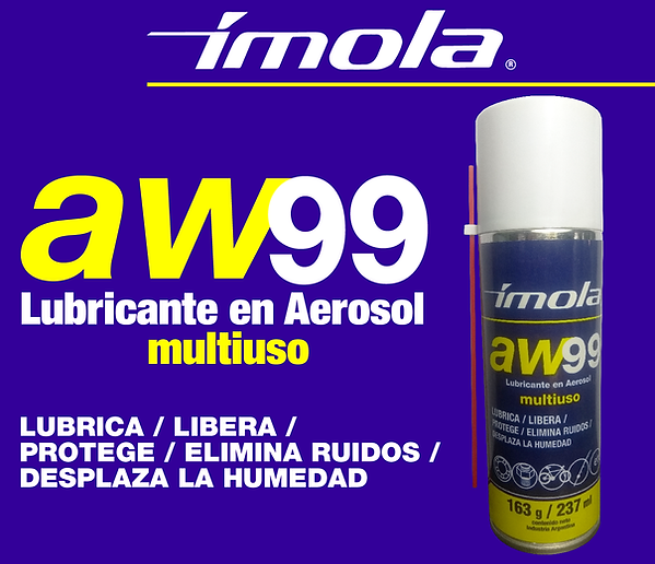 Lubricante Aerosol Multiuso AW99 Ímola