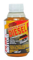 Lubricantes aceite y aditivos Plus Motori Maxima compresion diesel 400 cc