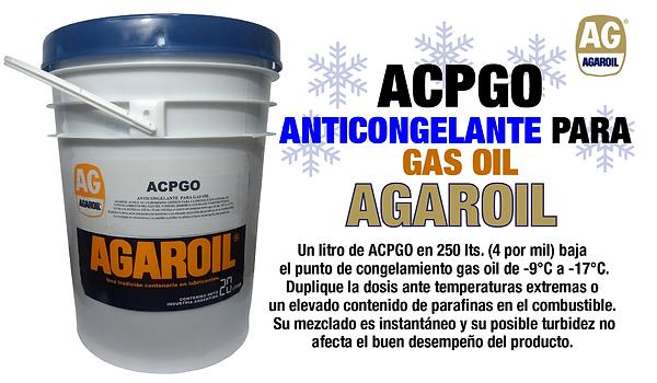 Anticongelante para gas oil ACPGO