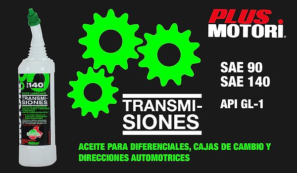 Aceite Transmisines GL 1 Tra sae 90 140 Plus Motori