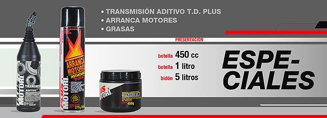 Lubricantes aceite y aditivos Plus Motori Especialidades