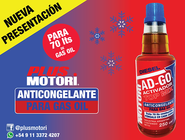 Anticongelante Gasoil Gas Oil Diesel Biodisel