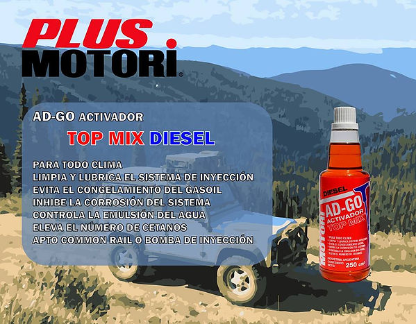 Activador Optimizador Gas Oil Plus Motori