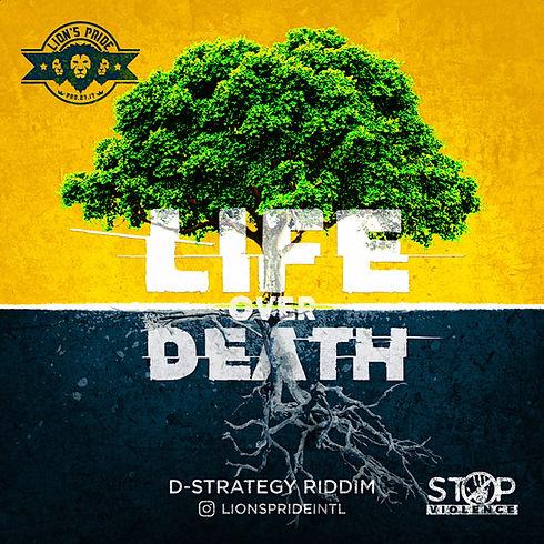 LIFE OVER DEATH ALBUM ART