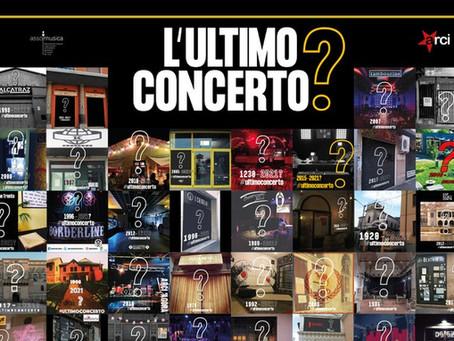 """""""L'Ultimo concerto?"""": un evento a sostegno della musica italiana e dei Live Club"""