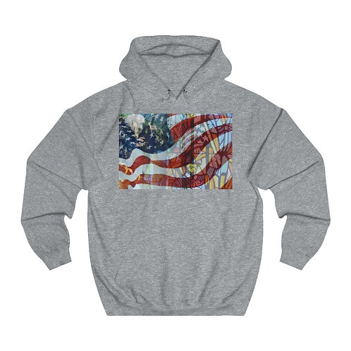 Wearable Collectible Art Unisex College Hoodie