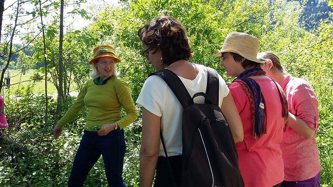 Kräuterspaziergang mit Brigitte Waser