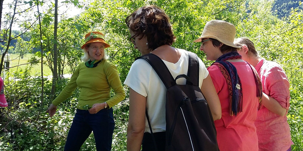Ausgebucht: Kräuterspaziergang mit Brigitte Waser