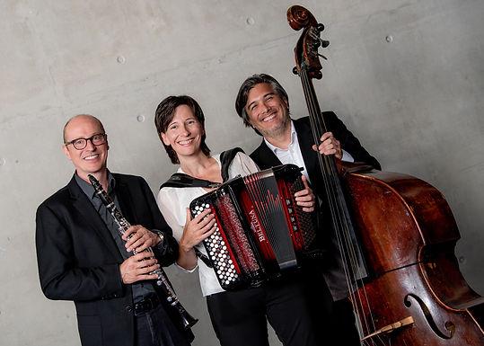 Claudia Muff, Josef Fischer und Peter Gossweiler