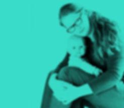 Christha en haar dochter