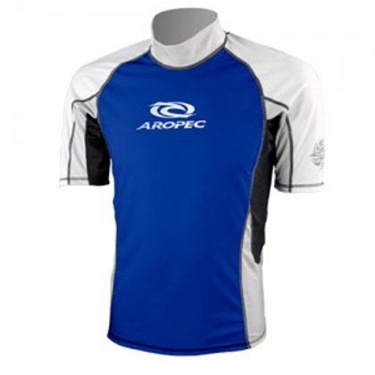 AROPEC Lycra Short Sleeve Rash Guard for Men
