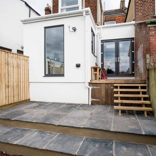 kitchen extension, Exeter