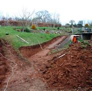 Garden landscaping, Rewe
